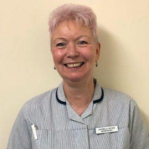 Angela Rudd, receptionist at Active Vetcare