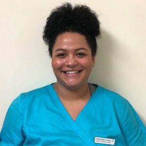 Cheyenna Harris, student veterinary nurse at Active Vetcare
