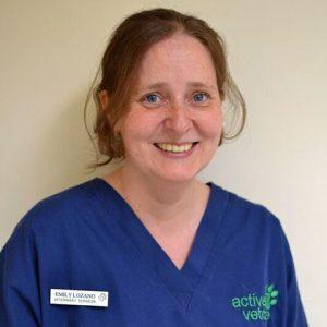 Emily Lorenzo, vet at Active Vetcare