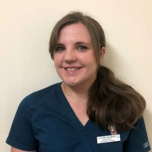 Louise George, student veterinary nurse at Active Vetcare