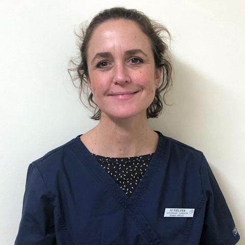 Jo Fielder, vet at Active Vetcare