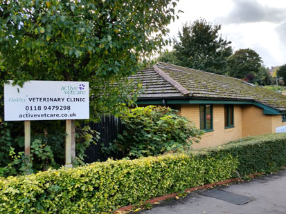 Caversham, Oakley Veterinary Centre outside of practice